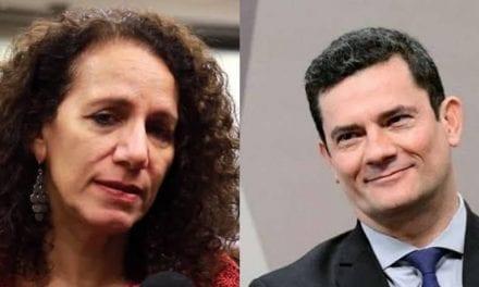 Parlamentar comunista Jandira Feghali tenta 'crescer' para cima de Sergio Moro e causa gargalhadas