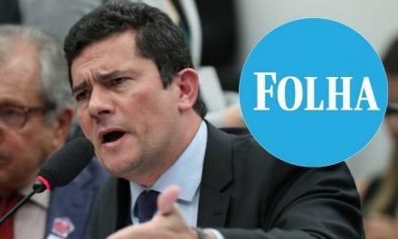 """Sergio Moro questiona matéria da Folha: """"É sério isso?"""""""