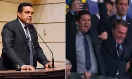"""Deputado desmascara parte da imprensa que disse que Bolsonaro foi vaiado no Maracanã: """"Imprensa podre, nojenta"""""""