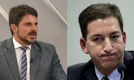 Senador Marcos do Val empareda Glenn Greenwald e sai em defesa de Sergio Moro