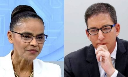 Partido de Marina Silva entra com pedido no STF para blindar Greenwald de investigações