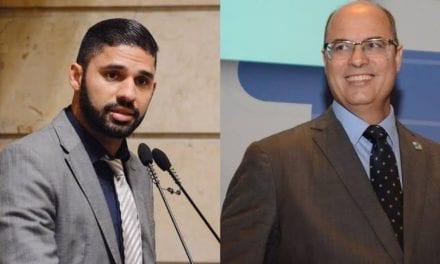 Witzel ignora pedido de escolta armada para deputado do PSOL desarmamentista, David Miranda