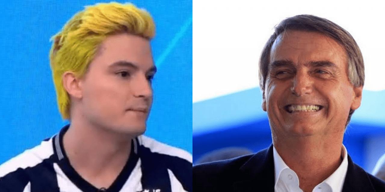Felipe Neto traduz errado slogan do governo, tenta atacar Bolsonaro, é corrigido e apaga publicação