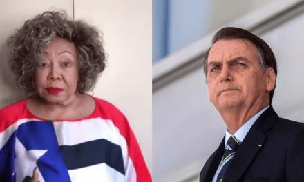 """Petista de carteirinha, Alcione critica Bolsonaro: """"Respeite o nordeste"""""""
