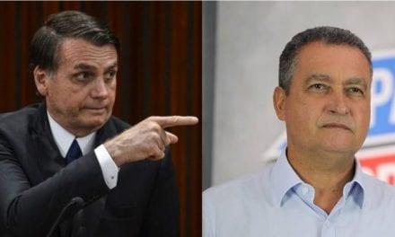 Governador da Bahia não autoriza a presença da PM em evento com a presença do Presidente Bolsonaro