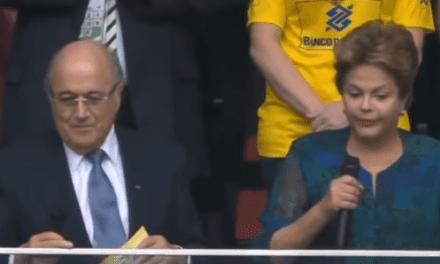 Relembre: O dia que Dilma foi vaiada por mais de 60 mil pessoas