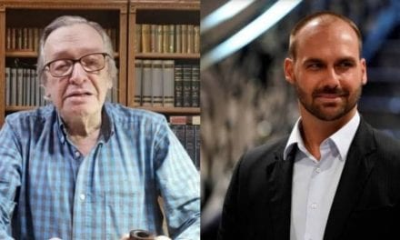 Olavo de Carvalho comenta e dá opinião contrária a ida de Eduardo Bolsonaro para Washington