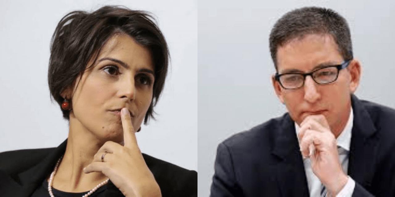 GRAVE: Hacker revela que Manuela D'avilla fez intermediação entre ele e Greenwald