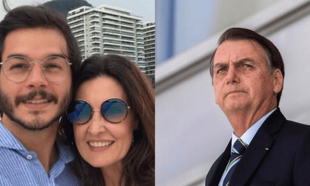 Túlio Gadelha, namorado de Fátima Bernardes, entra com ações contra Bolsonaro