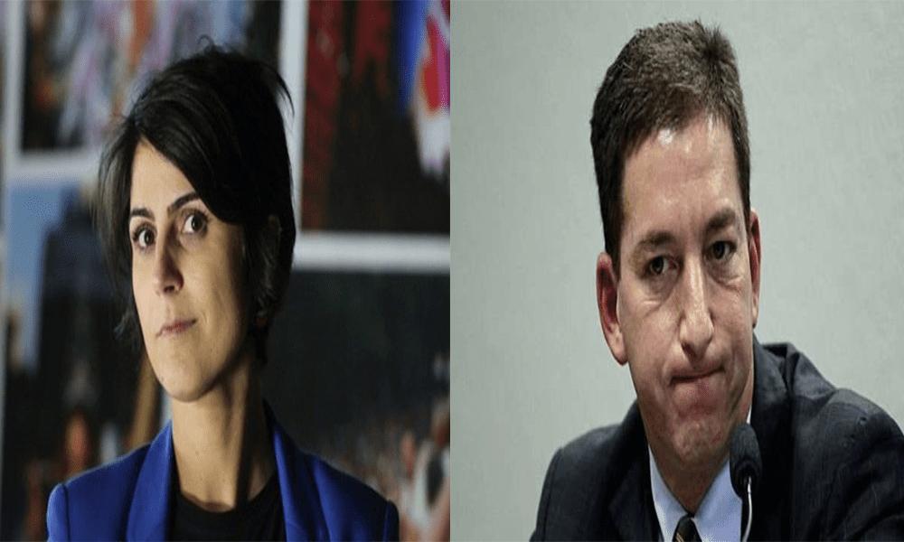 Manuela d'Ávila, vice do poste Andrade nas eleições presidenciais de 2018, confirmou ter sido ponte entre Verdevaldo e Hacker