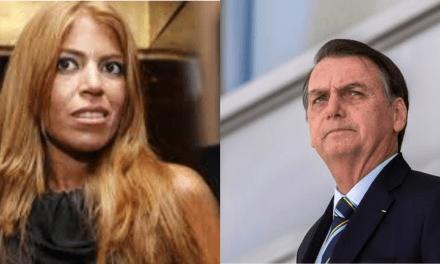Bruna Surfistinha parte para o ataque contra Bolsonaro