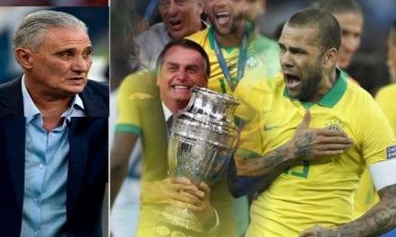 Daniel Alves sai em defesa de Bolsonaro e diz aquilo que Tite precisava ouvir