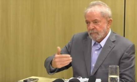 Na cadeia, Lula ataca Sérgio Moro e Deltan