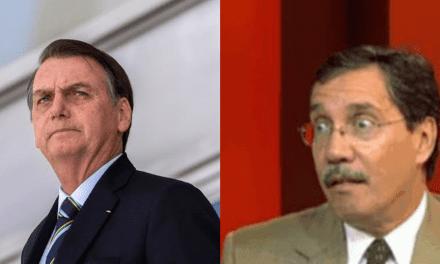 Bolsonaro expõe recebimento de 375 mil reais de jornalista da Globo, por uma única palestra