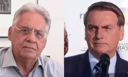 Depois de Doria, FHC parte para o ataque contra Bolsonaro