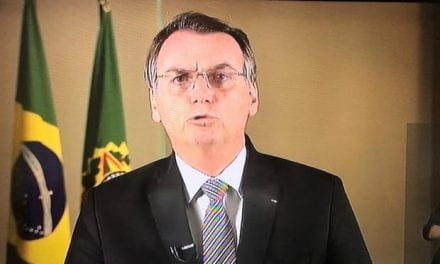 Em discurso, Bolsonaro comenta sobre as queimadas na Amazônia