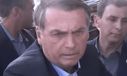 Bolsonaro tem embate frente a frente com jornalista da Globo e confidencia história sobre Michelle