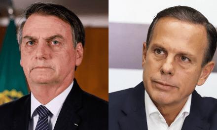 """Após ser acusado de """"mamar nas tetas""""do BNDES, Doria responde Bolsonaro"""