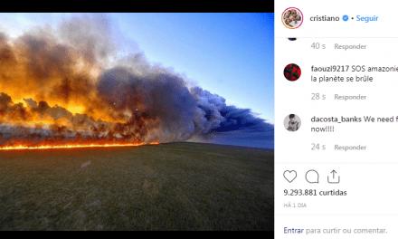 Veja quem foram algum dos famosos internacionais que postaram fotos falsas sobre a Amazônia