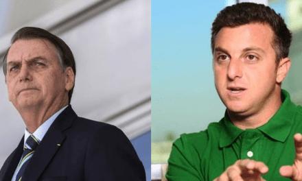 Após ser atacado, Bolsonaro rebate Huck e cita empréstimo para jatinho