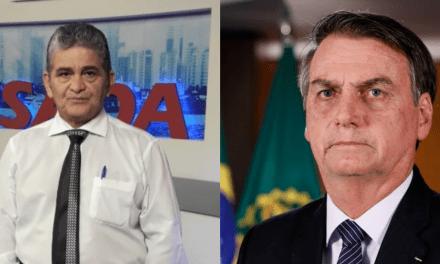 Apresentador sai em defesa de Bolsonaro e infarta ao vivo