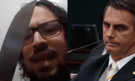 Sujeito que tentou invadir Senado já ameaçou Bolsonaro