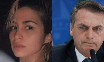"Atriz global Nanda Costa, em protesto contra Bolsonaro, posta vídeo ""fazendo cocô"""