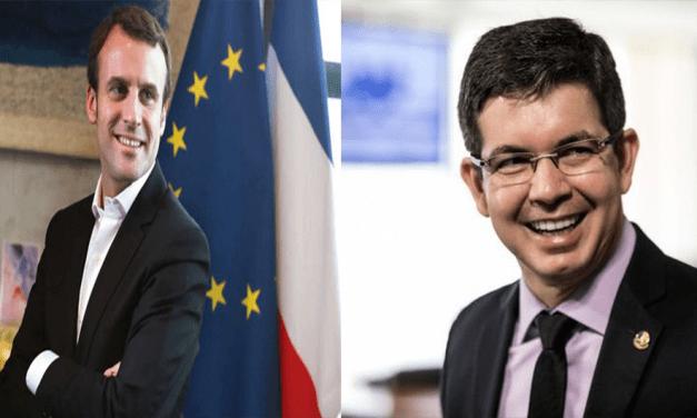 Passando por cima do Governo Federal, Senador articula reunião de governadores estaduais da Amazônia com Macron