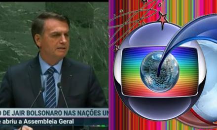 Bolsonaro na ONU: Internet viraliza vídeo que mostra a diferença da mesma notícia na Globo e na TV Record