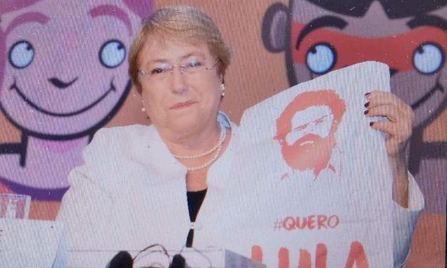 Adivinha quem fez campanha pela soltura do criminoso Lula?