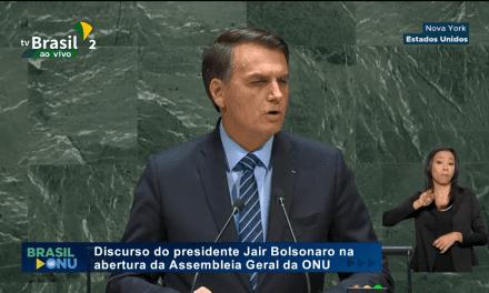 Bolsonaro condena o Socialismo perante Assembléia Geral da ONU