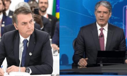 """Bolsonaro detona Jornal Nacional, da Rede Globo: 'Não tem mais teta, o esporte deles é me atacar. Não vão conseguir""""'"""