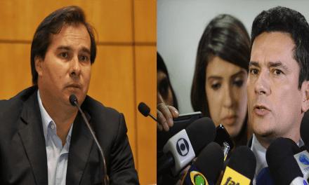Sérgio Moro lamenta a morte da pequena Ágatha e rebate fala de Rodrigo Maia
