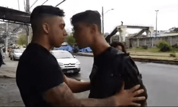 Em legitima defesa, policial e youtuber Gabriel Monteiro reage a tentativa de agressão de militante esquerdista