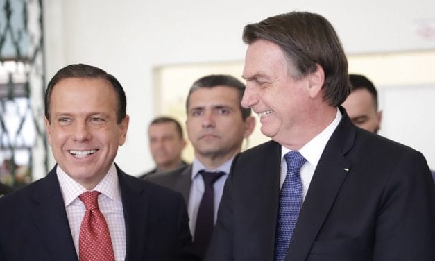 Segundo pesquisa, Bolsonaro possuí aprovação maior que Doria até mesmo em São Paulo