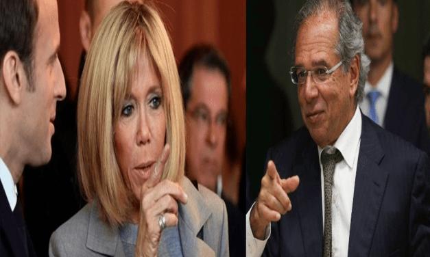 Mulher de Macron é 'feia mesmo', diz Ministro Paulo Guedes