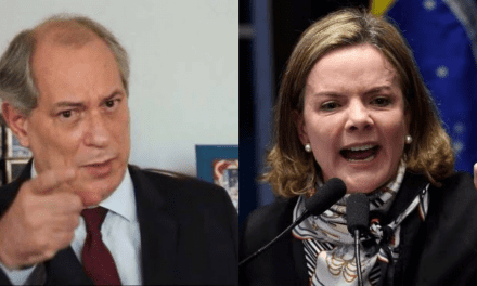 "Treta na esquerda: Ciro Gomes dispara contra Gleisi Hoffmann: ""Ela interpreta esse PT corrupto"""