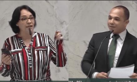 Vídeo: Deputada petista tenta atacar Bolsonaro sobre seu discurso na ONU, é retrucada por colega, e acaba passando vergonha