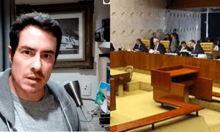 """Em vídeo, ator Felipe Folgosi, ex- Globo, detona STF e conclama apoio contra a Corte: """"A gente sabe muito bem quem eles querem soltar"""""""