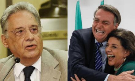 Após afirmação de FHC, jornalista Leda Nagle sai em defesa de Bolsonaro e é aplaudida por internautas