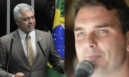 Major Olímpio quer Flavio Bolsonaro fora do PSL