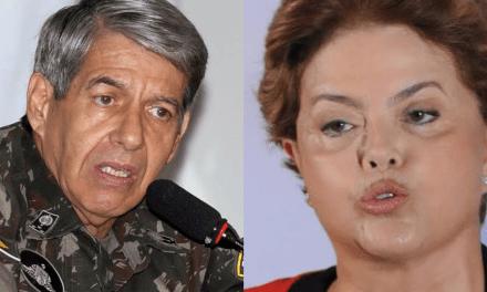 """General Heleno detona Dilma: """"Viaja para denegrir a imagem do Brasil no exterior"""""""