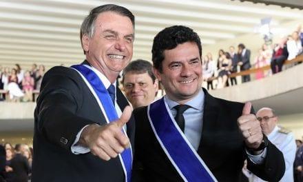 Bolsonaro falou com Moro sobre possibilidade do ministro se candidatar a presidência em 2022
