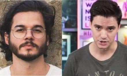 Após polêmica na Bienal, namorado da Fátima Bernardes faz convite a Felipe Neto