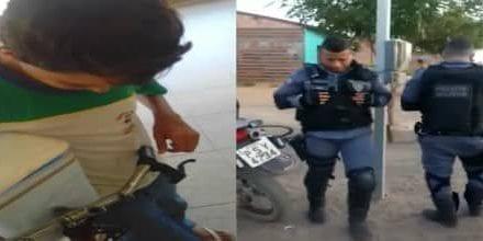 Vídeo: Policiais militares prestam solidariedade a menino que foi humilhado na rua por vender 'geladinho'