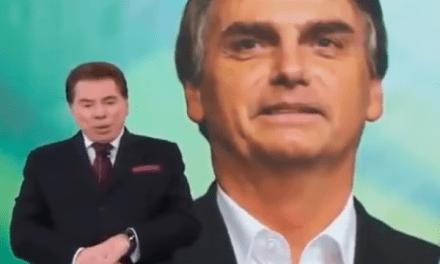 Bolsonaro convida e Silvio Santos aceita convite para 7 de setembro
