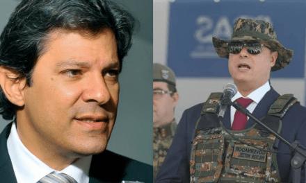 """Fernando Haddad pede impeachment de Witzel e o acusa de ser """"assassino"""""""