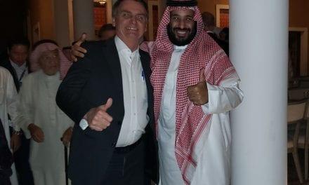 Governo Bolsonaro anuncia que a Arabia Saudita investirá US$ 10 bilhões no Brasil
