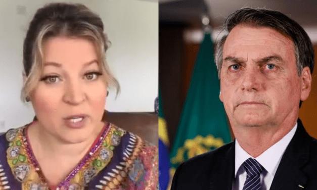 "Após vídeo publicado por Bolsonaro, Joice manda indireta e dispara contra o presidente: ""Deus limitou só a inteligência. A burrice é ilimitada."""