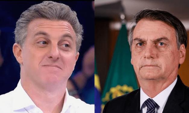 Em novas pesquisa divulgada, Luciano Huck venceria Haddad e empataria com Bolsonaro